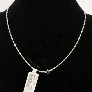 ♥️ Solid Real Sterling Silver Singapore Necklace